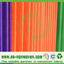 High weight polypropylene nonwoven medical curtain fabric