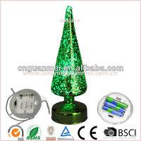 Wholesale Led green christmas tree topper 8''