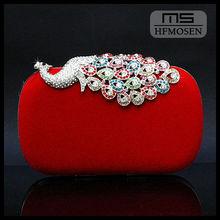 B3051 2013 new spot boutique Peacock handbags fashion evening clutch bag wholesale
