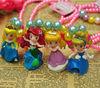 cute cartoon necklace, children princess necklace, wholesale cheap baby necklace