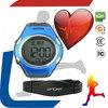 Health calorie counter Digital sport water resist unisex plastic 5.3khz heart rate monitor