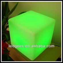 RGB Color Change Night Club & Party &gardon decorative LED Cube light