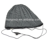 high quality beanie for mens fashion ski hat/free knit pattern for hat earflaps