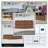 bitumen roof tiles for house shingles for roofing