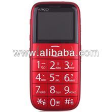 Elder Senior SOS Mobile Phone GSM Single SIM Single Mode Quadband