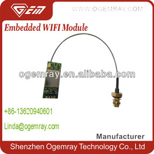 Embedded RT3070 wireless wifi network module with CE FCC support soft AP mode