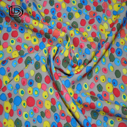 100% polyester knitting paper print ladies fabrics single jersey made in China