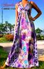 ANGELA-1123 Evening Casual Ladies Women Elegant Long Maxi Dress Sexy Strap Party Beach Dress Ready Made Garments
