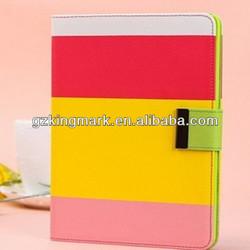 HOt Sale For iPad Mini 2 Leather Case,PU Leather Wallet Case For iPad Mini 2