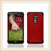 Elegant Unique Red Diamond Mobile Phone Case For LG G2
