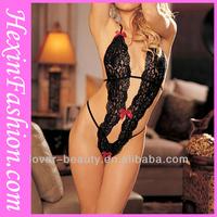 Wholesale Hot Black Teddy Girls Nighty Sexy Wear Lingerie