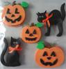 wholesale craft foam pumpkins sticker
