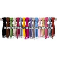 100% viscose fashion single colour scarf scarves stole scarf