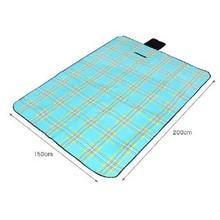 100% polyester leisure waterproof folding picnic blanket rolling picnic rug with waterproof