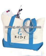 2014 Cotton promotional bag/Canvas Promotional Beach Bag/ calico bag