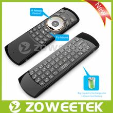 Super Slim 2.4G Rii i25 Fly Mouse Keyboard for Smart TV Box