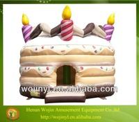 Advertising inflatable birthday cake model