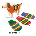 Los patrones de tejido de punto para el perro suéters( yj27742)