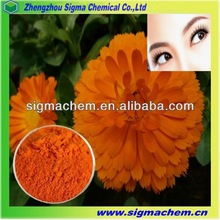 Large Stock Food Grade Lutein Extract From Marigold For Protecting Eyesight
