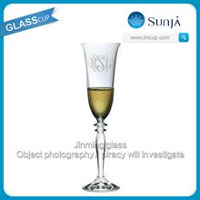 Holiday decorative wine glass unique design champagne glass
