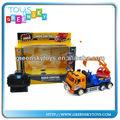 4 canais rc construção de caminhões de brinquedo rc escavadeira escavadeira