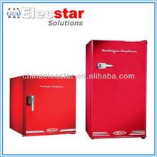 with CE/UL, 46L to 128L counter top mini fridge/ single door / retro small under counter hotel