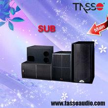 TASSO bass amplifier audio systems subwoofer speaker module