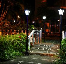 4w 1.72m garden lights JY-0008A-4W-S2-31W-PIR LED european outdoor lighting IP44 PIR CE