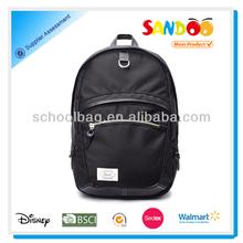 2014 multi-function black laptop backpack 1680d