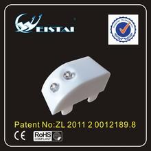 Hot product ABS cover mini sensor led craft hinge lights for wardrobe, closet, shoebox WST-1813-6