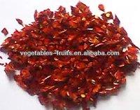 sweet spice(vegetables) red bell pepper granules 9*9mm