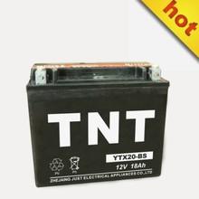 YTX20L-BS 12v China power battery motorcycles