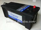 China manufacturing auto parts battery mf superior 12v