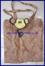 190t polyester foldable bag animal shape