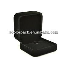 Exclusive luxury custom velvet pendant packaging boxes