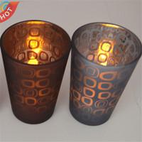 art glass candle holder YF0007