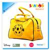 2014 factory fashion leather travel bag bowling bag