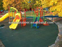 Safe play rubber tiles