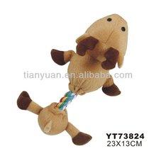 plush stuffed pet toy dog made in China(YT73824)
