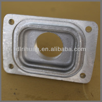 Aluminum shell and cover sand casting
