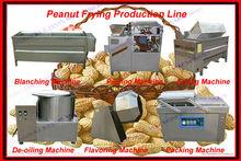 high standard peanut frying processing equipment