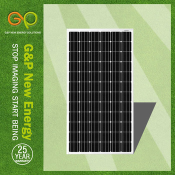 G&P 260W solar panel manufacturers in China with TUV, High quality cell