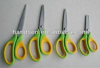 "5-8"" NEW and hot rubber office non-slip handle scissors SC3350,SC3360,SC3370SC3380"
