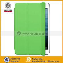 for iPad Mini 2 smart cover leather case