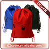 Big cloth drawstring bags gift bags with pockets OEM