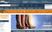 Ecommerce website for selling Shoes