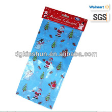 Christmas cheap table cloth,one dollar party items
