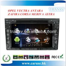 Hot selling digital touch screen car radio for OPEL VECTRA ANTARA ZAFIRA CORSA MERIVA ASTRA car radio with BT/TV/GPS/IPOD