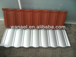Colorful Sand Coated Metal Roof tile for house