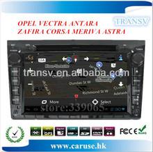 Touch screen car radio with gps navigation for OPEL VECTRA ANTARA ZAFIRA CORSA MERIVA ASTRA car radio with BT/TV/GPS/IPOD
